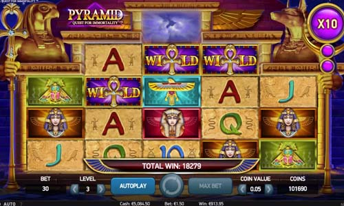 pyramid quest for immortality slot screen - Pyramid Quest for Immortality Slot Review