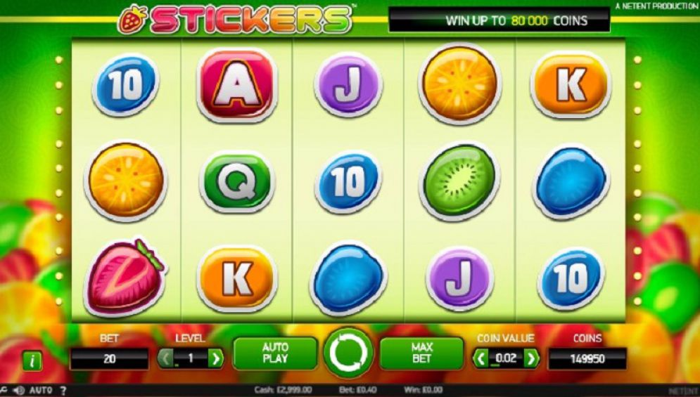 tickers 5 - Stickers Slot Game