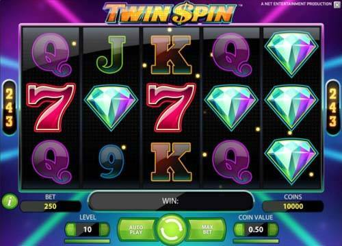 twin spin slot screen