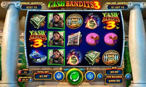 cash bandits 3 slot screen - Cash Bandits 3 Slot Review
