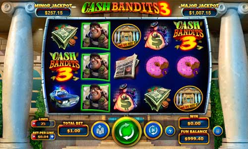 cash bandits 3 slot screen - Cash Bandits 3 Slot Game