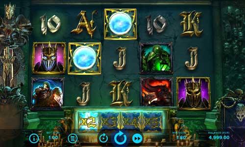 dark king forbidden riches slot screen