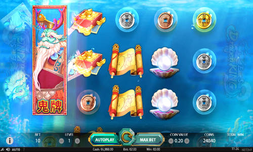 east sea dragon king slot screen - East Sea Dragon King Slot Review