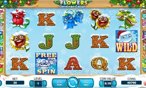 flowers christmas edition slot screen - Flowers Christmas Edition Slot Review