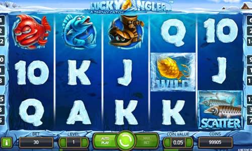 lucky angler slot screen - Lucky Angler Slot Review