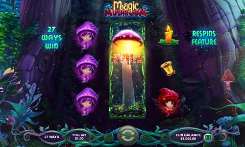 magic mushroom slot rtg screen - Magic Mushroom Slot Game