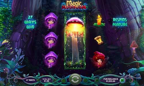 magic mushroom slot rtg screen
