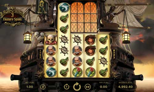 rage of the seas slot screen - Rage of the Seas Slot Review
