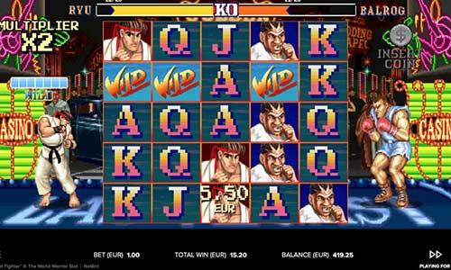 street fighter 2 the world warrior slot screen - Street Fighter 2 The World Warrior Slot Game