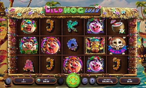 wild hog luau slot screen - Wild Hog Luau Slot Game