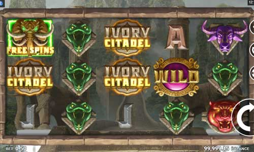 ivory citadel slot screen