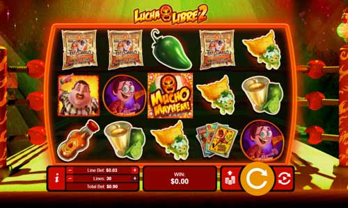 lucha libre 2 slot screen - Lucha Libre 2 Slot Game