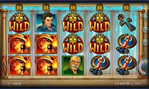 temple of tut slot screen