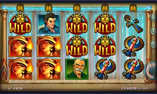 temple of tut slot screen - Temple of Tut Slot Review