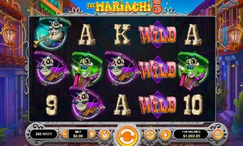 the mariachi 5 slot screen - The Mariachi 5 Slot Review