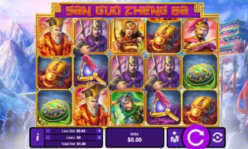 three kingdom wars slot screen - Three Kingdom Wars Slot Game