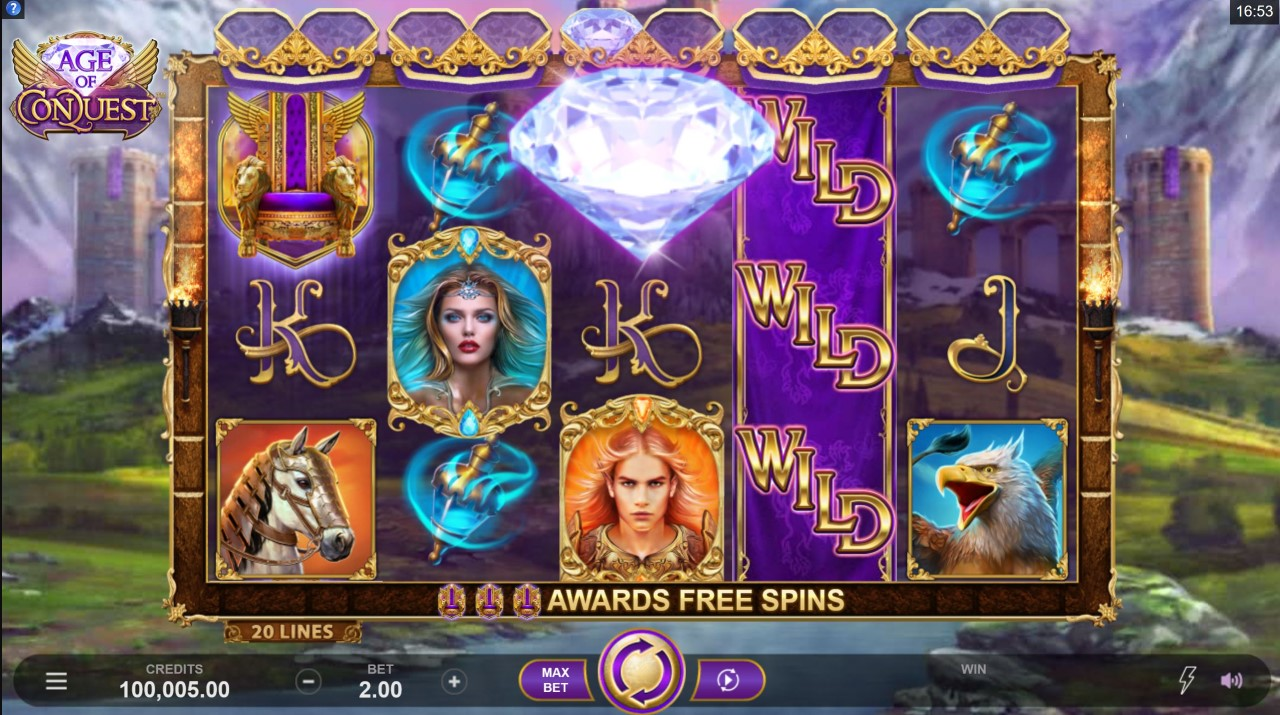 1589900273Screenshot 4 1024x572 - Age of Conquest Slot Review