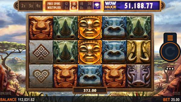 african legends slot screen - African Legends Slot Game