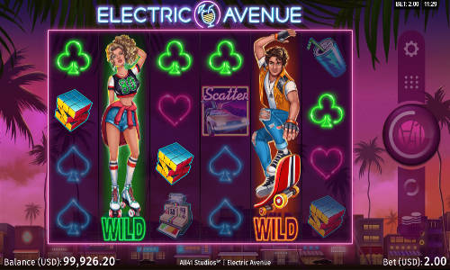 electric avenue slot screen - Electric Avenue Slot Game