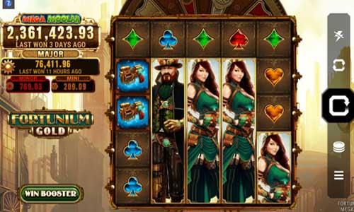 fortunium gold mega moolah slot screen - Fortunium Gold Mega Moolah Slot Game