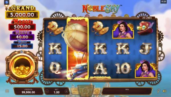 noble sky slot screen - Noble Sky Slot Game