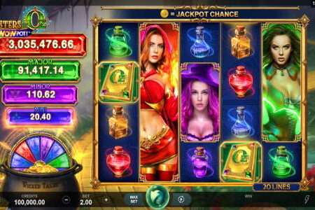 Sisters of Oz Slot Review