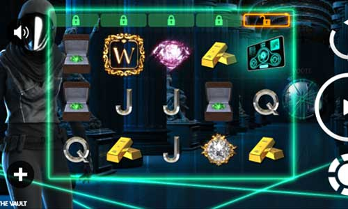 the vault slot screen - The Vault Slot Game