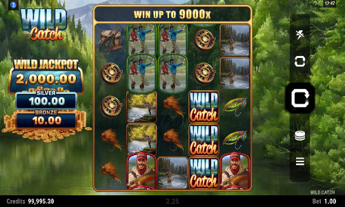 wild catch slot screen - Wild Catch Slot Review