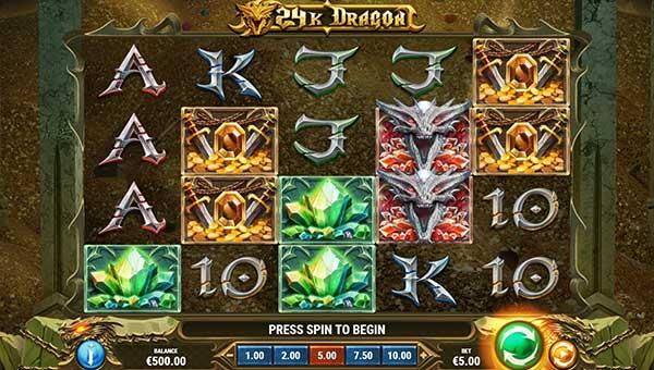 24k dragon slot screen - 24k Dragon Slot Review