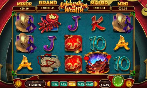 celebration of wealth slot screen - Celebration of Wealth Slot Game