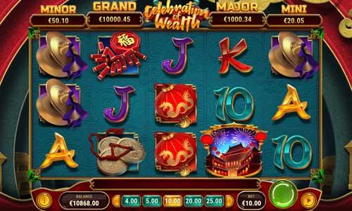 celebration of wealth slot screen - Celebration of Wealth Slot Review