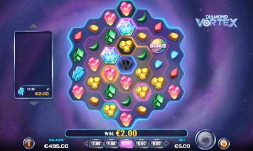 diamond vortex slot screen - Diamond Vortex Slot Game