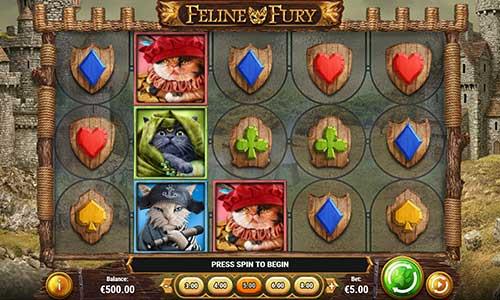 feline fury slot screen - Feline Fury Slot Review