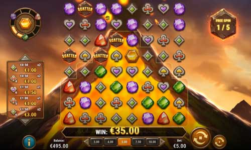 gold volcano slot screen - Gold Volcano Slot Review