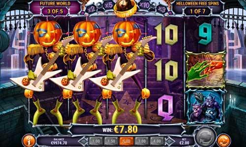helloween slot screen - Helloween Slot Review