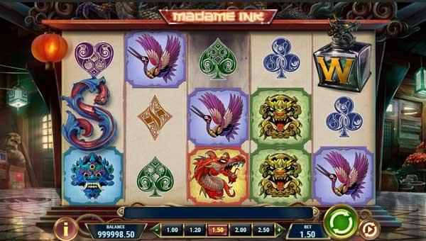 madame ink slot screen - Madame Ink Slot Game