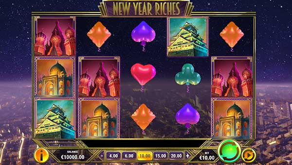 new year riches slot screen - New Year Riches Slot Review