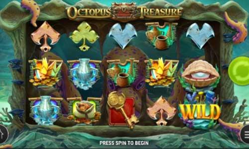octopus treasure slot screen - Octopus Treasure Slot Review