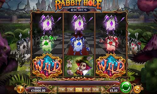 rabbit hole riches slot screen - Rabbit Hole Riches Slot Review