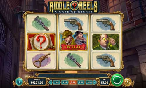 riddle reels a case of riches slot screen - Riddle Reels A Case of Riches Slot Review