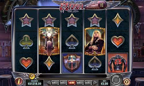 saxon slot screen - Saxon Slot Game