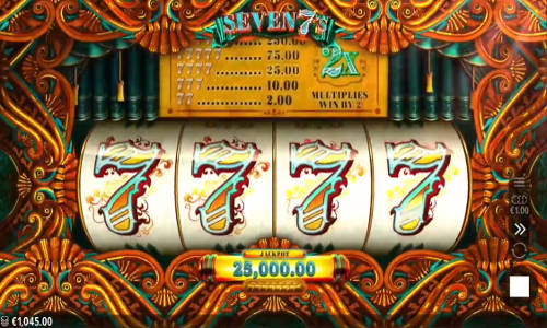 seven 7s slot screen - Seven 7s Slot Review