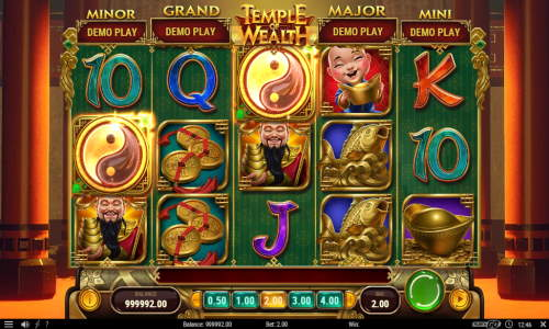 temple of wealth slot screen - Temple of Wealth Slot Game