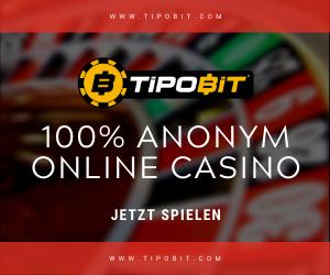 tipobit ANONYM Online Casino 1 - Serious Bitcoin Casino 2021