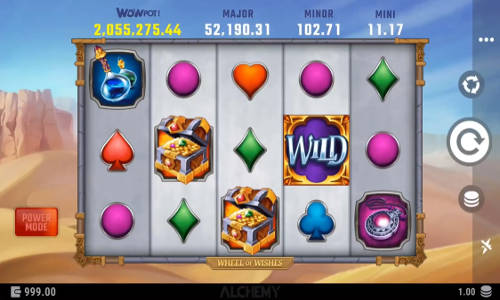 wheel of wishes slot screen - Wheel of Wishes Slot Review