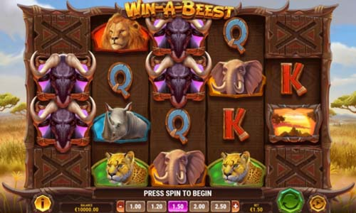win a beest slot screen - Win a Beest Slot Game