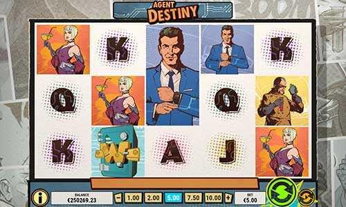 agent destiny slot screen - Agent Destiny Slot Review