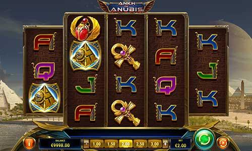 ankh of anubis slot screen - Ankh of Anubis Slot Game