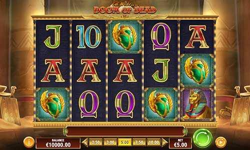 cat wilde and the doom of dead slot screen - Doom of Dead Slot Game