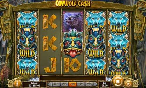 coywolf cash slot screen - Coywolf Cash Slot Game